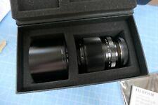 Fuji 60mm XF Macro lente asferica Fujinon f2.4 con l'originale scatola di presentazione