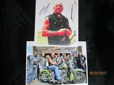 Picture of Sonny Barger and 81 crew and Signed 8 X 10 copy