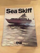 Chris Craft 1969 Vintage Sea Skiff Boat Brochure / Catalog