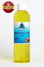 GRAPESEED OIL ORGANIC by H&B Oils Center COLD PRESSED PREMIUM 100% PURE 4 OZ