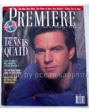 DENNIS QUAID Jean Harlow CARRIE FISHER Yahoo Serious SPIKE LEE 1989 magazine