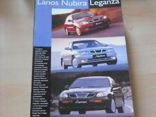 26555) Daewoo Lanos Nubira Leganza Polen Prospekt 199?