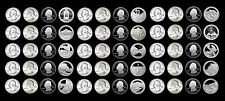 2010 2011 2012 P+D+S+S America the Beautiful Mint Proof Set ~  All in Coin Tubes