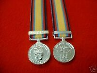 Quality Gulf War 1 Iraq Miniature Medal British Medals