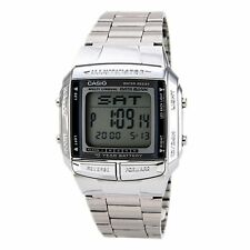 Casio Men's Silver tone Data Bank Watch DB360-1
