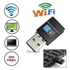 300Mbps Mini USB Wifi Wireless Adapter 802.11 b/g/n Network LAN Dongle Receiver