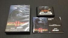 Mortal Kombat II SEGA Mega Drive, complete, VGC