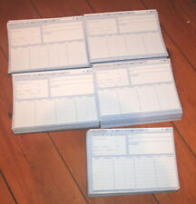 K/&L 100 Karteikarten DIN A4 gelb 160g//m/² blanco