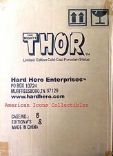 Mighty Thor Limited Edition Statue #8 Hard Hero Marvel Comics Sealed Case New