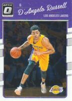 2016-17 Donruss Optic Basketball #64 D'Angelo Russell Los Angeles Lakers