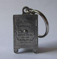 Jack Daniels Old No 7 brand new metal safe design keyring for home bar collector