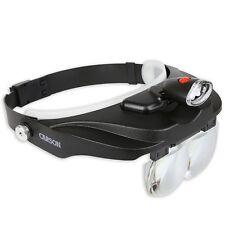 Handsfree Magnifying Visor 3 Lens Plates Magnification Binocular Headband Vision