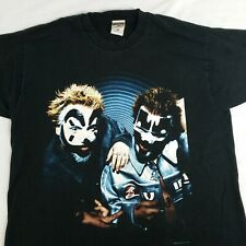 Insane Clown Posse Band Tee T Shirt Large ICP Juggalo 2000 Hatchet Man Logo