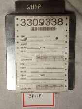 1999 FORD EXPLORER ENGINE COMPUTER MODULE, CP118