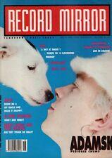 Adamski on Magazine Cover 5 May 1990    E-Zee Possee   Madonna