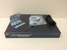 CISCO 1841 w/ WIC card for CCIE CCNA CCNP lab Rackmounts Power Supply Warranty