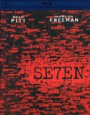 Se7en Blu-ray Seven 1995 Brad Pitt