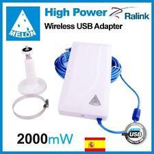 WIFISKY N89, 24dbi antena Panel WIFI, 2000mw,2W, MELON N89,