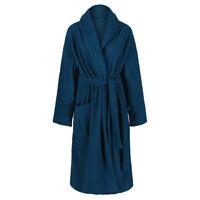 Marks & Spencer Womens Jacquard Embossed Dressing Gown New M&S Soft Fleece Robe