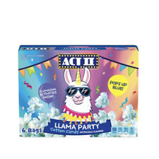 New Act Ii Llama Party Microwave Popcorn - Pops Up Blue! - Cotton Candy Taste?!?