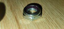 Qty 2 58 18 Nylon Insert Lock Nut Thin Jam Half Thick Fine Thread