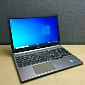 Fujitsu Lifebook E753 Laptop, Intel i5 CPU, 16GB RAM, 320GB HDD, Win 10 Pro