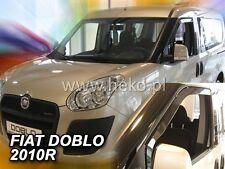 Set di 2 deflettori daria per Fiat Doblo Opel Combo D 2010 2011 2012 2013 2014 2015 2016 2017 2018 2019 2020 Parapioggia Parasole
