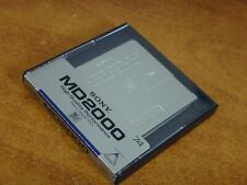SONY MD2000 - HIGH QUALITY PERFORMANCE - Mini Disc MD Made in Japan