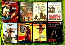 Clint Eastwood Dirty Harry Set+7 Top Westerns (12 Dvds) Unforgiven;Good,Bad,Ugly
