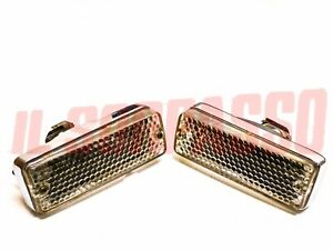 Lights Front Indicators Bianchi Fiat 124 Coupe - 850 Coupe 2 Series Original