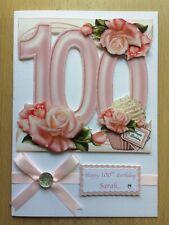De Luxe Fait à la main carte d/'anniversaire-peut être Personnalisé-Toute relative//Ami