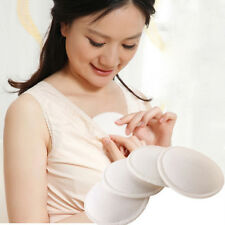 4X Mother Mum Feeding Washable Reusable Breast Nursing Pads Soft Absorbent New