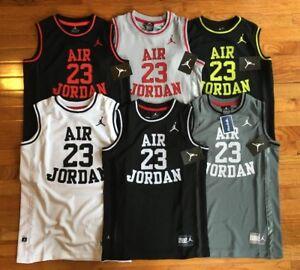 Nike Air Jordan Boys Youth Athletic Basketball Jersey Tank Top Classic Mesh New