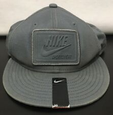 Nike Sportswear 643 Ball Cap All Gray Everything Hat Embroidered Snapback OS