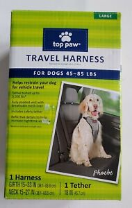Top Paw Travel Harness large. 45- 85 lbs New