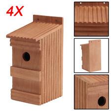 4 x Nistkästen für die Vögel,Nistkasten,Vogelhaus aus Holz,4-Super-Set ,11-OP-4