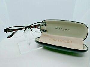 Ann Taylor AT 212 (01) Matte Black 51 x 16 130 Eyeglass Frames