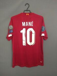Mane Liverpool Jersey 2019 2020 Home Size XL Shirt New Balance ig93