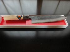 Japanisches Profi Kochmesser Gyuto (Klinge:180mm)weiß Stahl-1(Shirogami-1)