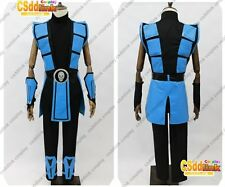 Mortal Kombat 3 Scorpion Cosplay Costume Color Blue MM02