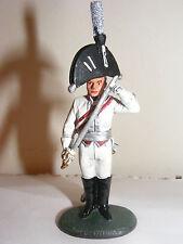 Del PRADO SOLDATO PIOMBO PRUSSIANO Officer francese GARDE DU CORPS 1806