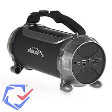 Tragbarer Bluethooth Lautsprecher 100W AUX SD USB FM Speaker Stereo RMS 5W+2x3W