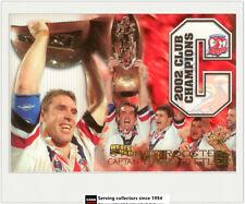 2003 Select NRL XL Series Case Card CC1 Brad Fittler (2002 Club Champions)