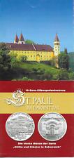 10 Euro Folder St. Paul im Lavanttal