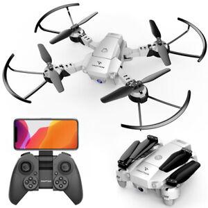 SNAPTAIN A10 WiFi MINI Faltbare RC Drohne Kamera FPV Quadcopter Stimmenkontrolle