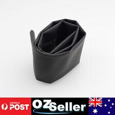 Dia=30mm Heat Shrink Tube Heatshrink Tubing Sleeving Wrap Black - Sold per METER