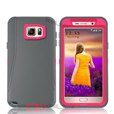 NEW For Samsung Galaxy Note 5 Case Cover (Holster fits Otterbox Defender series)
