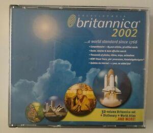 Encyclopedia Brittanica 2002 CD-ROM Windows PC