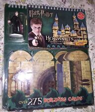 Harry Potter BUILDING CARDS Build Your Own Hogwarts Set by KLUTZ New