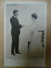 Vintage Theatre Postcard- CYRILL MAUDE & BEATRICE FERRAR in COUSIN KATE